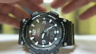 d544f46a1854 Cómo Cambiarle La Hora Al Reloj Casio AQS810 5 Alarmas Solar     jorgeherreramx