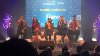 "Pentatonix ""Hallelujah"" LIVE  -  Holiday Concert in Chicago (Up Close View)"