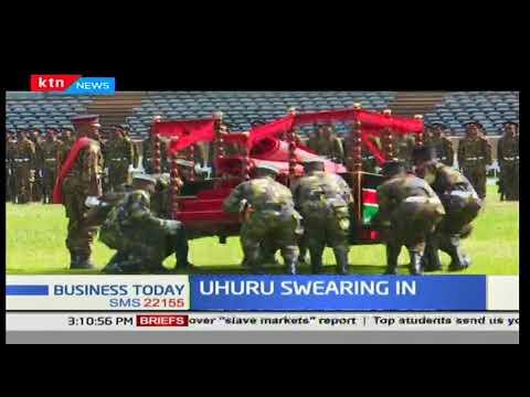 Preparations for swearing in of president-elect, Uhuru Kenyatta in top gear at Kasarani stadium