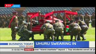 Preparations for swearing in of president-elect Uhuru Kenyatta in top gear at Kasarani stadium