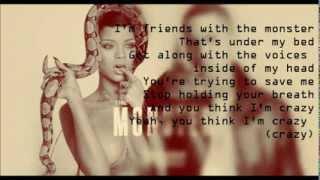 Eminem   The Monster Ft. Rihanna (Official Lyrics) Full Song