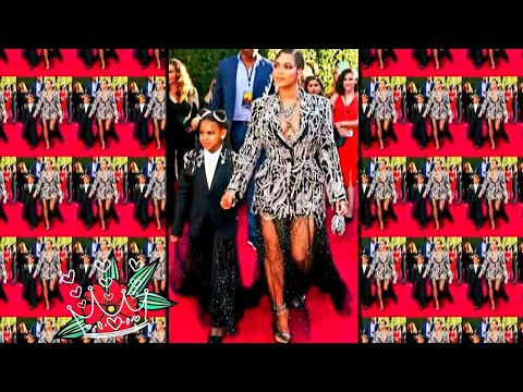 "Beyonce & Daughter Blu Ivy,  Dazzle the Red Carpet at the Premiere of Disneys ""The Lion King"" Movie"