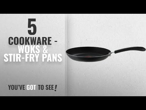 Top 10 Cookware - Woks & Stir-Fry Pans [2018]: T-fal E93808 Professional Total Nonstick Thermo-Spot