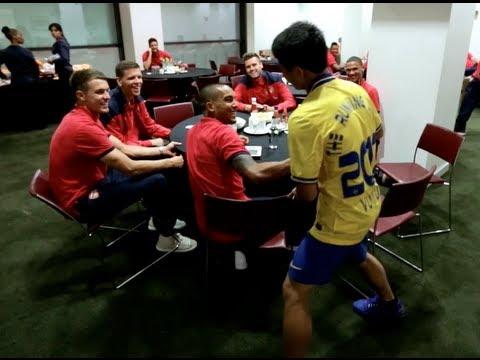 Arsenal bất ngờ tung clip độc về Running Man ở London , niềm tự hào của VN