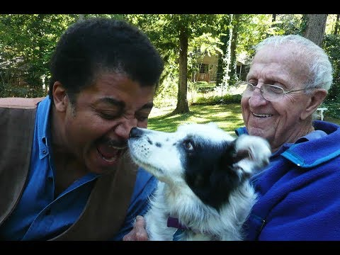 The time Neil deGrasse Tyson visited Chaser (the dog that could identify 1000+ toys) to test his ability (6 min). Chaser passed this summer after 15 incredible years of life.