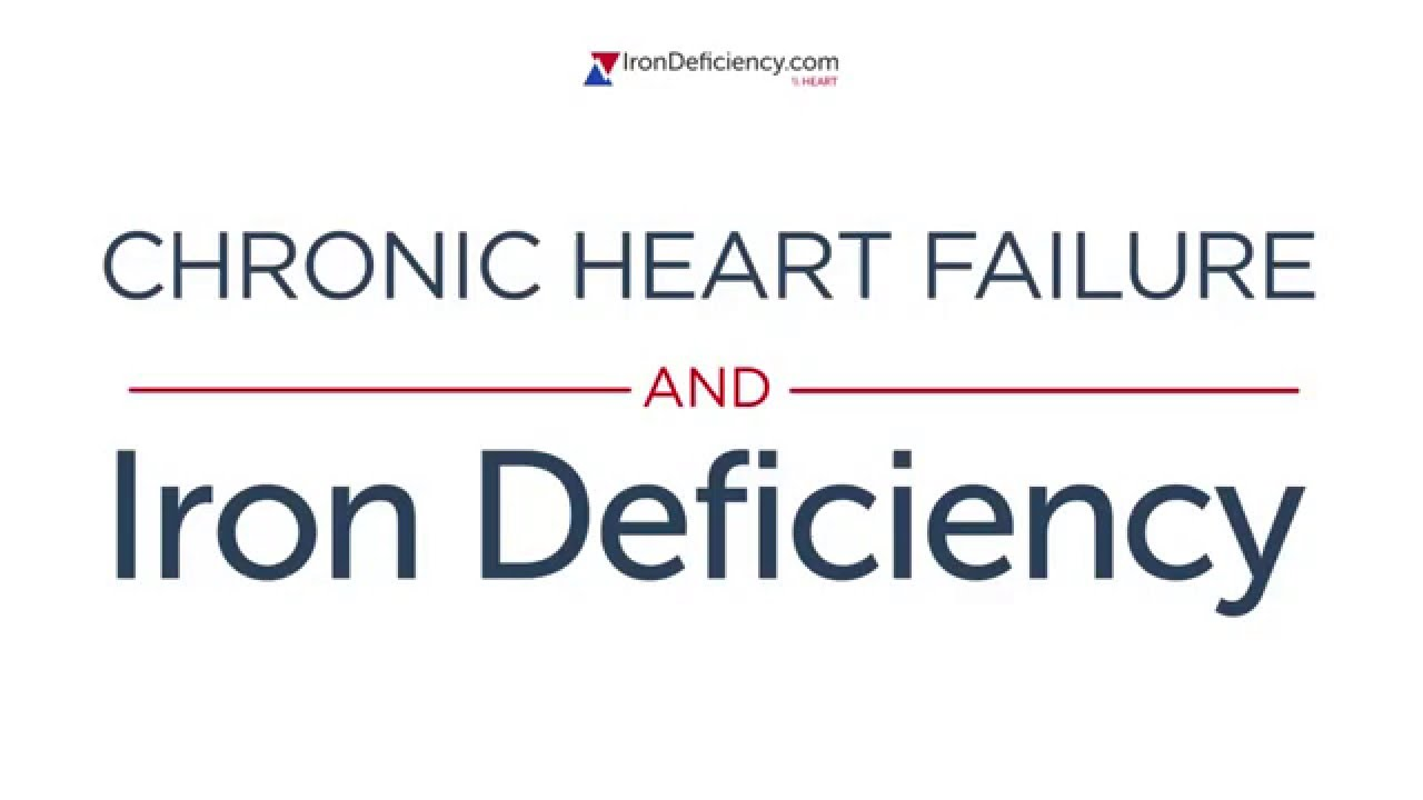 Symptoms of iron deficiency and heart failure Video Thumbnail