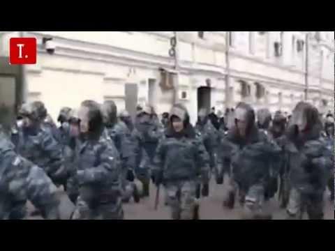 Навальный готовит госпереворот. Раздача палаток.
