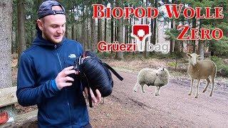 Grüezi Bag Schlafsack - Produktvorstellung Biopod Wolle Zero