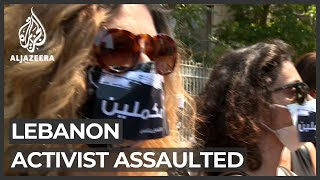 Attack on prominent Lebanese activist raises concerns