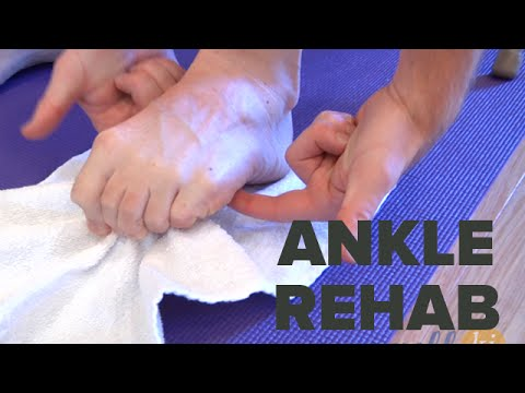 Video Best Ankle Rehabilitation Exercises For Those Recovering From Ankle Injury