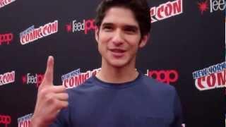 Tyler Posey Interview - New York Comic Con 2012