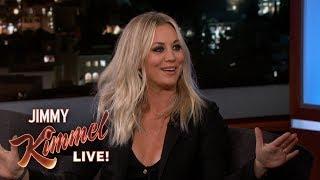Kaley on Jimmy Kimmel Live