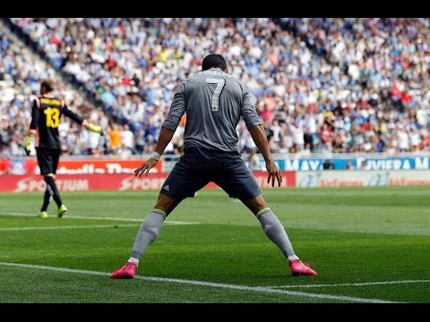   Espanyol vs Real Madrid 0-6 All Goals HD 12.09.2015   Cristiano Ronaldo Penta Trick  