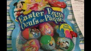 6 Surprise Eggs Unboxing Kinder Surprise Zaini Winnie the Pooh Mickey Mouse Ariel Disney Pixar
