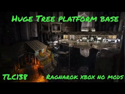 Ark: Ragnarok - HIGHLANDS PLATFORM CAVE BASE!! PLATFORMS PLUS!! [E24