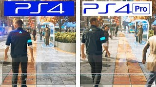Detroit Become Human | PS4 / PS4 Pro | FRAMERATE TEST | FPS Comparison