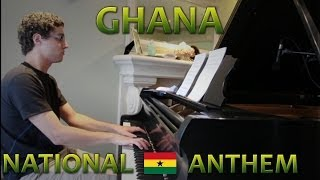 Ghana Anthem - Piano Cover (World Cup 2014)