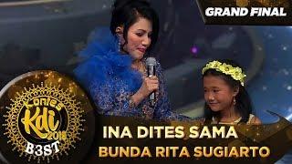 Mantul Ina Situbondo Langsung Dites Sama Bunda Rita Sugiarto - Grand Final KDI 2019 (18/10)