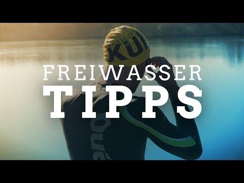Freiwasser Schwimmen im Triathlon – Tipps und Tricks