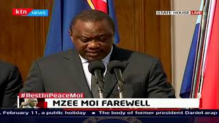 Uhuru: Today we celebrate the life of a patriot who raised the hopes of everyone who heard him