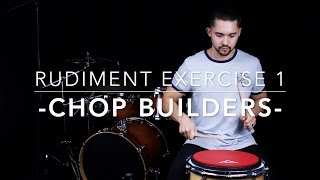 Hand Speed & Chop Builder Rudiment Exercise   Drum Lesson With Eric Fisher