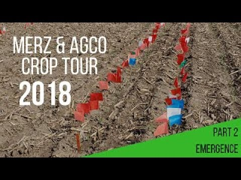 2018 Merz Crop Tour - Part #2 - Emergence Study - AGCO/Precision Planting