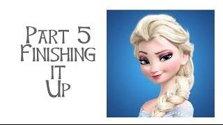 Disneys Frozen - Elsa Costume Tutorial Part 5