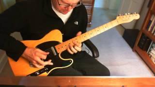 Janelle Monae Ghetto Woman guitar solo (cover)