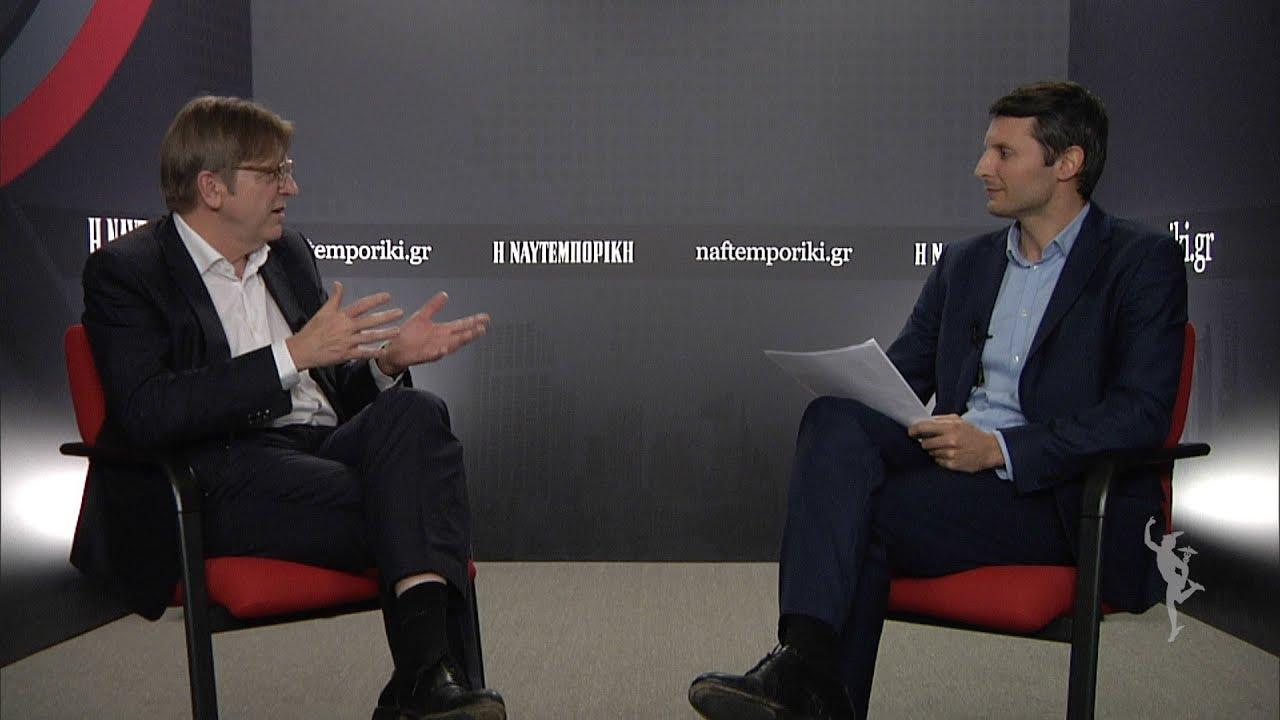 Γκι Φερχόφσταντ στη «Ν»: Ο Τσίπρας δεν παραδίδει μεταρρυθμίσεις