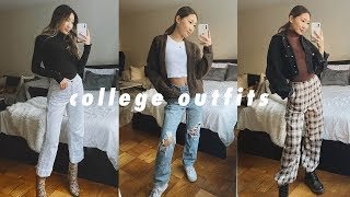 10 GO-TO COLLEGE OUTFITS