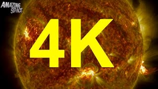 NASA | 4K Video:  Thermonuclear Art – The Sun In Ultra High Quality Mp3 4K