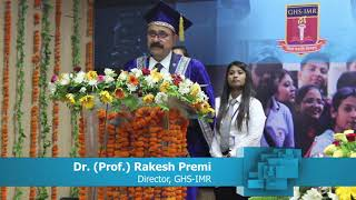 Convocation 23rd Batch 2019 Annual Report by Director Dr. (Prof.) Rakesh Premi