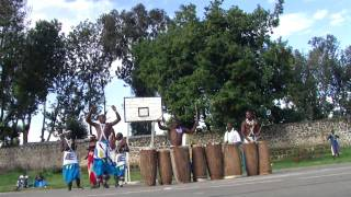 preview picture of video 'Intore Dancers in Ruhengeri, Rwanda'