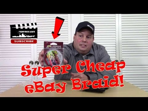 Super Cheap eBay Fishing Braid Line: Episode 421
