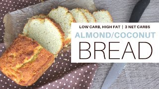 how to make low carb bread with almond flour