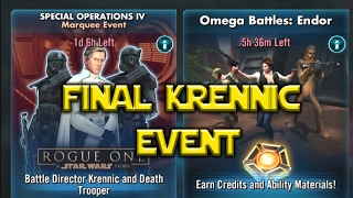 Star Wars: Galaxy Of Heroes - Final Krennic Event