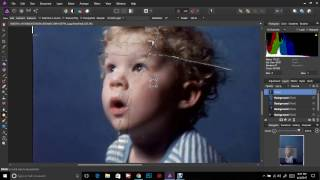Repairing Torn Photos With Affinity Photo