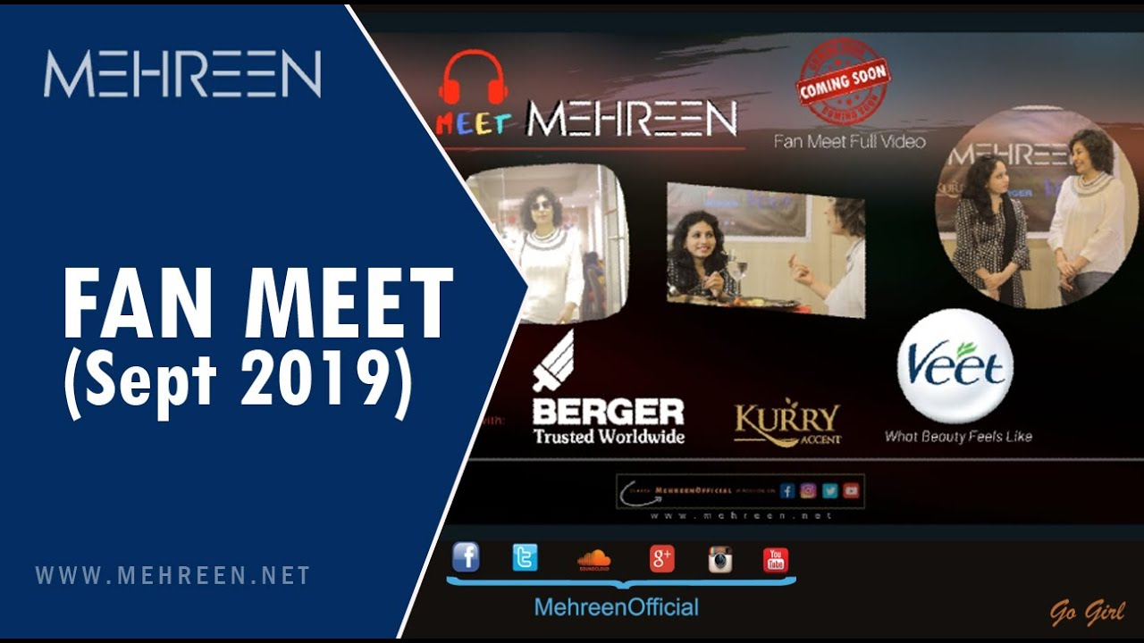 Meeh Mehreen event - September 2019