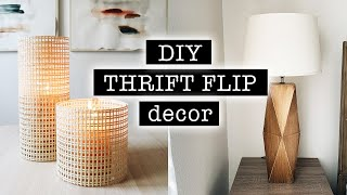 DIY THRIFT FLIP DECOR / Extreme Bedroom Makeover PART 1 / DECOR On A BUDGET | XO, MaCenna