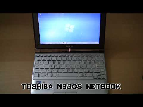 Toshiba NB305 Netbook Review