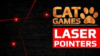 CAT GAMES - 😺 LASER POINTERS (ENTERTAINMENT VIDEOS FOR CATS TO WATCH)