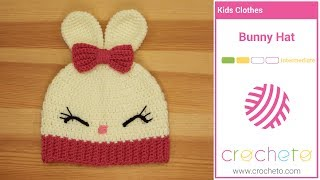 Learn how to Crochet: Bunny Hat