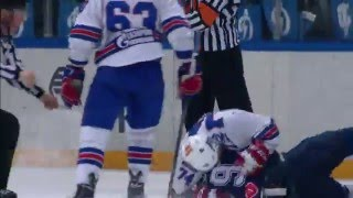 KHL Fight: Yakovlev VS Tarasov