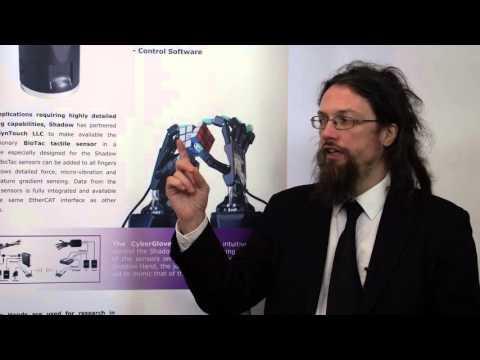 Anthropomorphic robot hands using maxon motors
