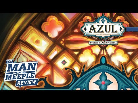 Azul: Stained Glass of Sintra Review by Man Vs Meeple