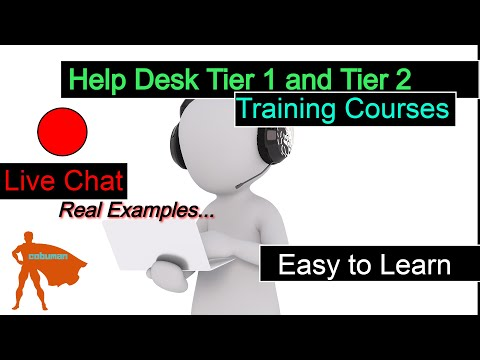 Tech Support TV, Topic: Help Desk Training FREE Courses ...