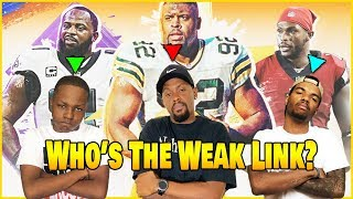 3 Brothers Fight To See Who's The True Weakest Link! (Madden 20 Superstar KO Mode)