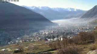 preview picture of video 'Time-Lapse di Tirano (SO) vista da Baruffini'