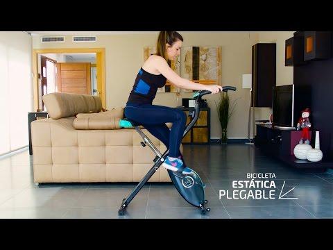 Bicicleta magnetica, plegable y compacta X-Bike, Cecotec