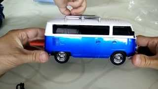 Mein VW Bus Radio MP3 Player WS-266 Car Speaker unboxing